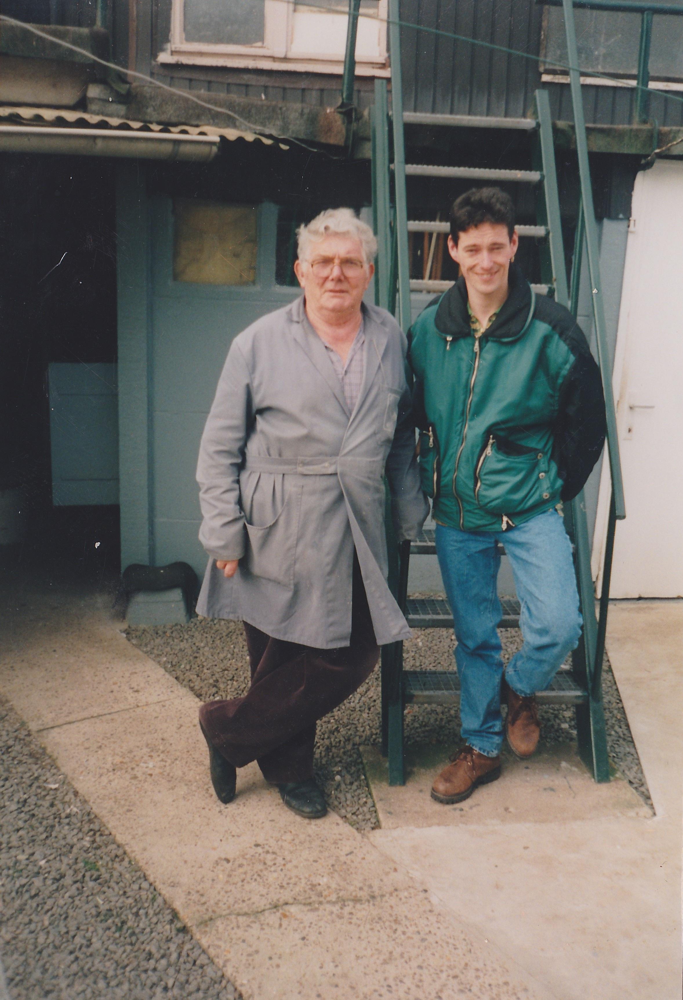 Louis Goyvaerts en Kees
