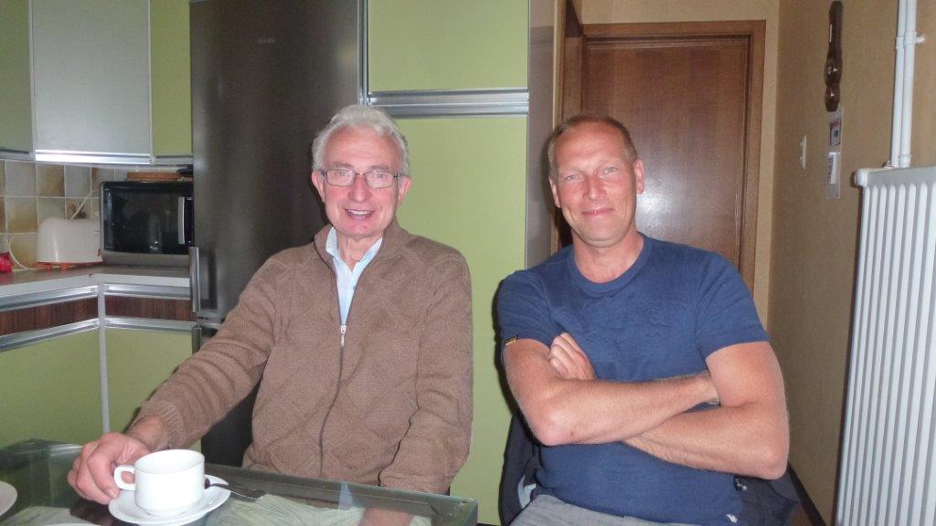 Joop en Marcel Lismont